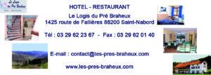 Carte Les prés braheux - Open de Lorraine